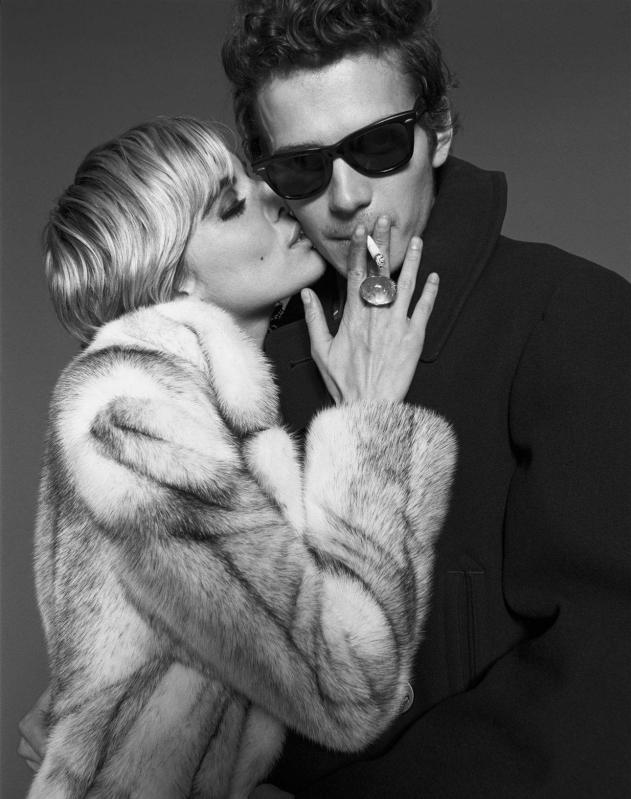 Sienna Miller and Hayden Christensen for Factory Girl (2006)